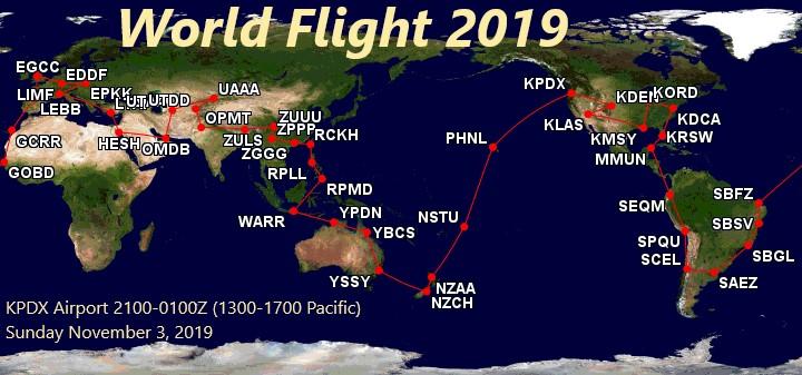 World Flight 2019