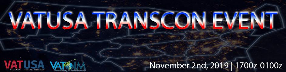 VATUSA's Transcon 2019