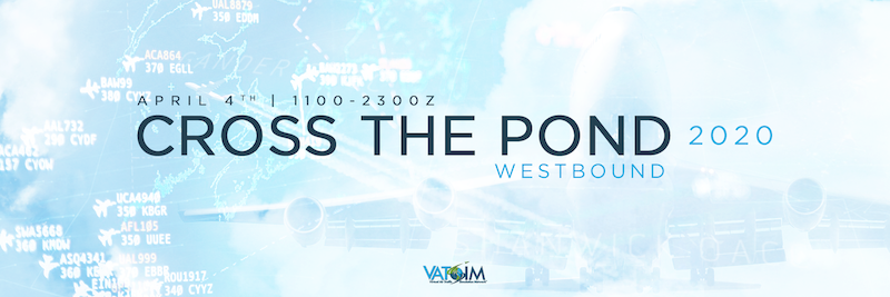 [SUPPORT EVENT] Cross the Pond 2020 - Westbound