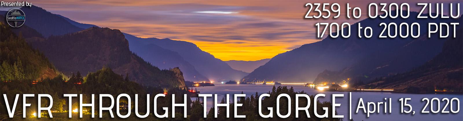 VFR through the Gorge