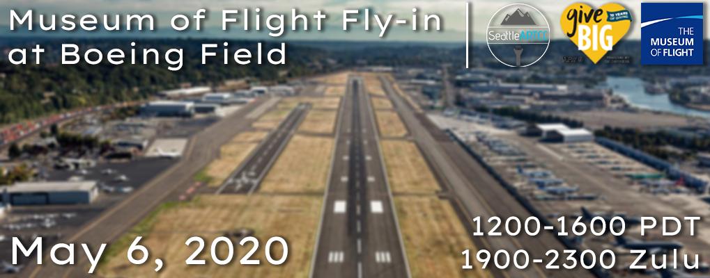 Museum of Flight Fly-in at Boeing Field (Fundraiser)