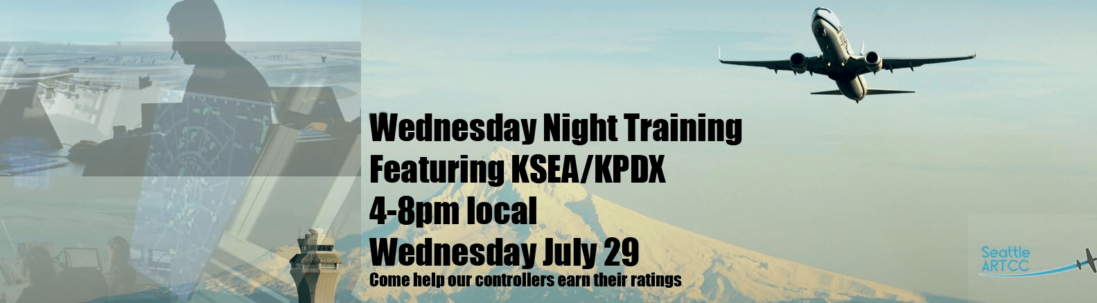 Wednesday Night Training (KSEA/KPDX)