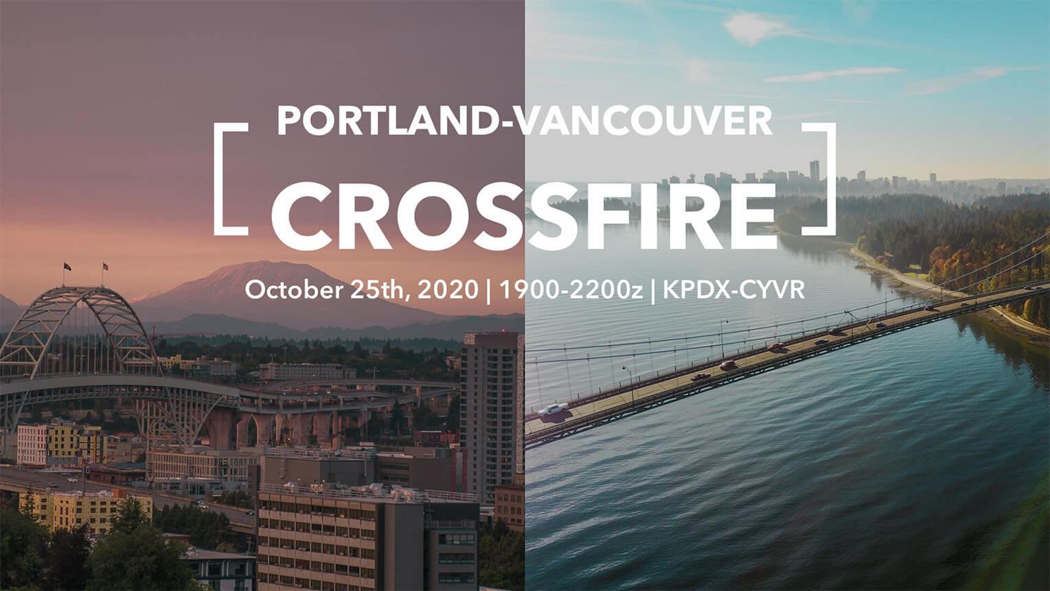 YVR-PDX Crossfire