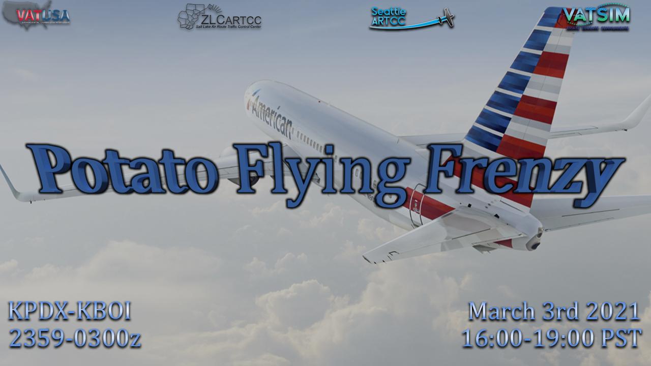 Potato Flying Frenzy