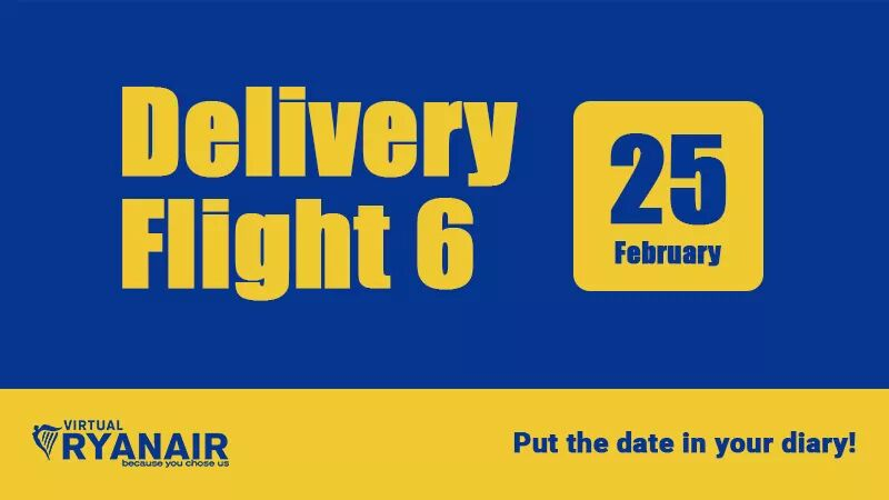 vRyan Air Delivery Flight 6
