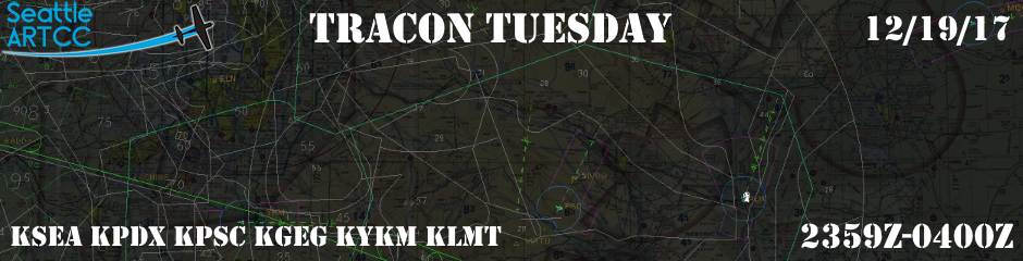 Seattle ARTCC's TRACON Tuesday!