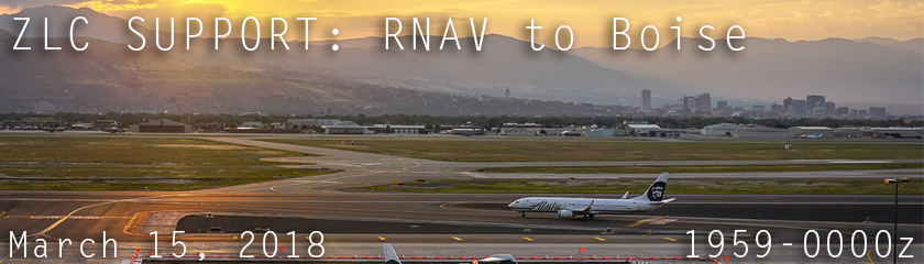 RNAV To Boise Support