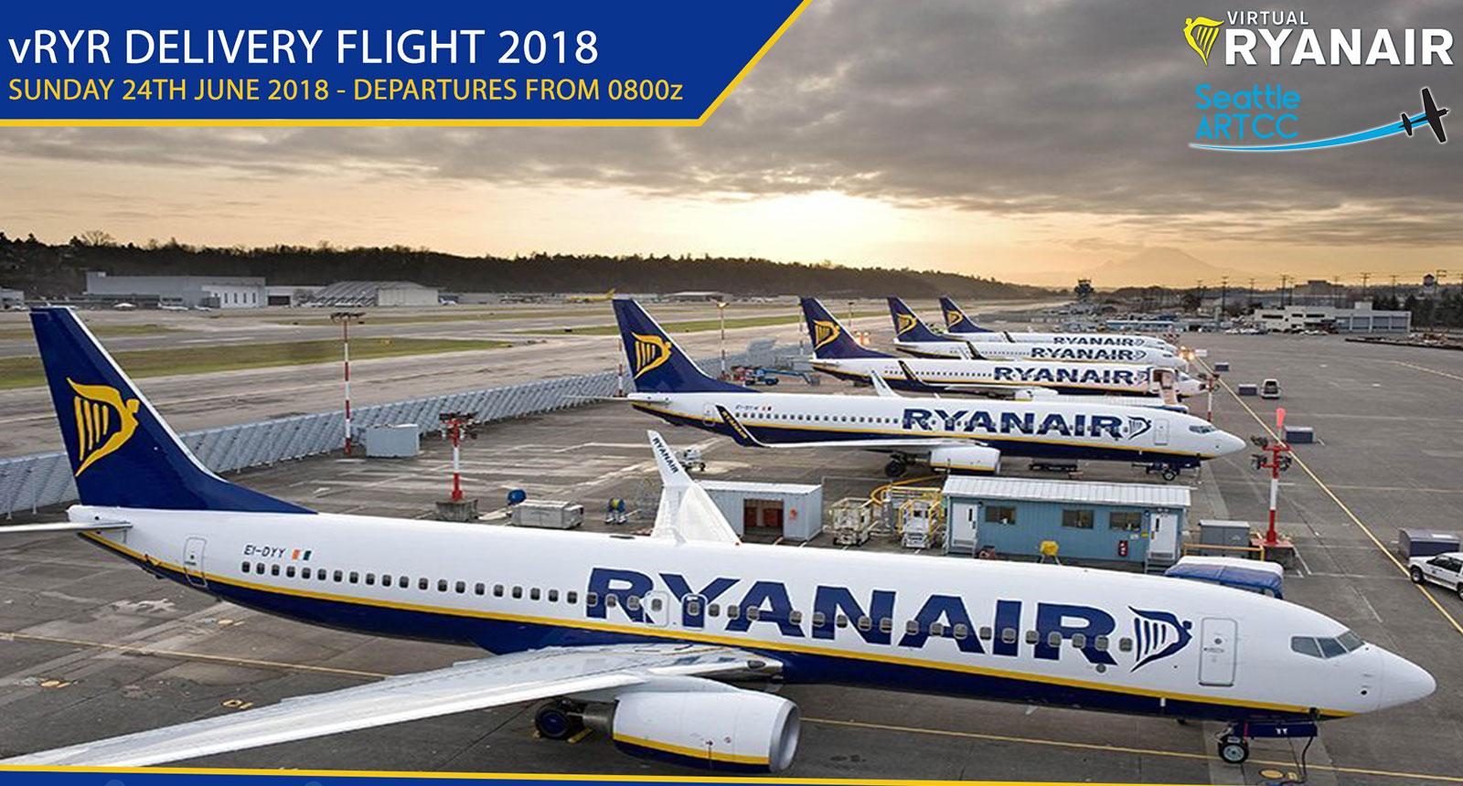 vRYR Delivery Flight 2018